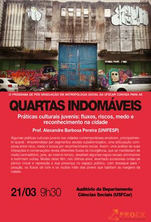 Quartas Indomáveis – Alexandre Barbosa Pereira (Unifesp)