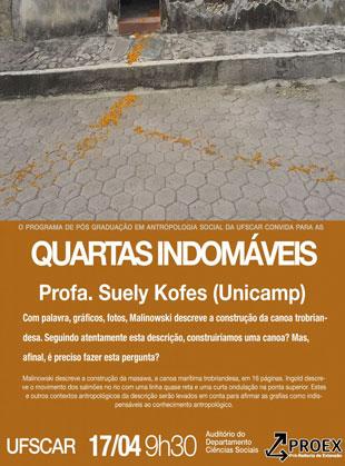 Quartas Indomáveis – Suely Kofes (Unicamp)