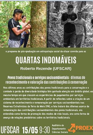Quartas Indomáveis – Roberto Rezende (UFSCar)