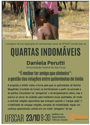 Quartas Indomáveis – Daniela Perutti