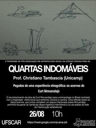 Quartas Indomáveis – Christiano Tambascia (Unicamp)