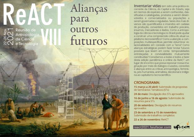 VIII Reunião de Antropologia da Ciência e Tecnologia